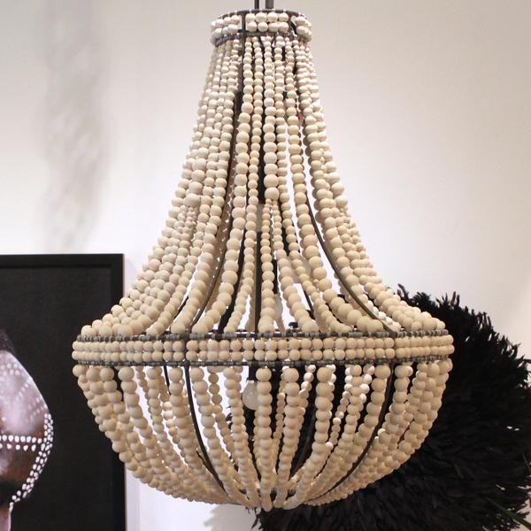 Hand made mud clay chandelier from klaylife all klaylife designs are wired and fully compliant