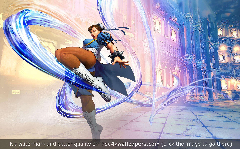 Chun Li Street Fighter V Hd Wallpaper Street Fighter Street Fighter 5 Chun Li Street Fighter Anime fighting game wallpaper