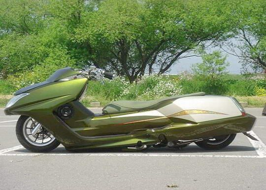 Yamaha Morphous-bagged | scooter love | Scooter bike