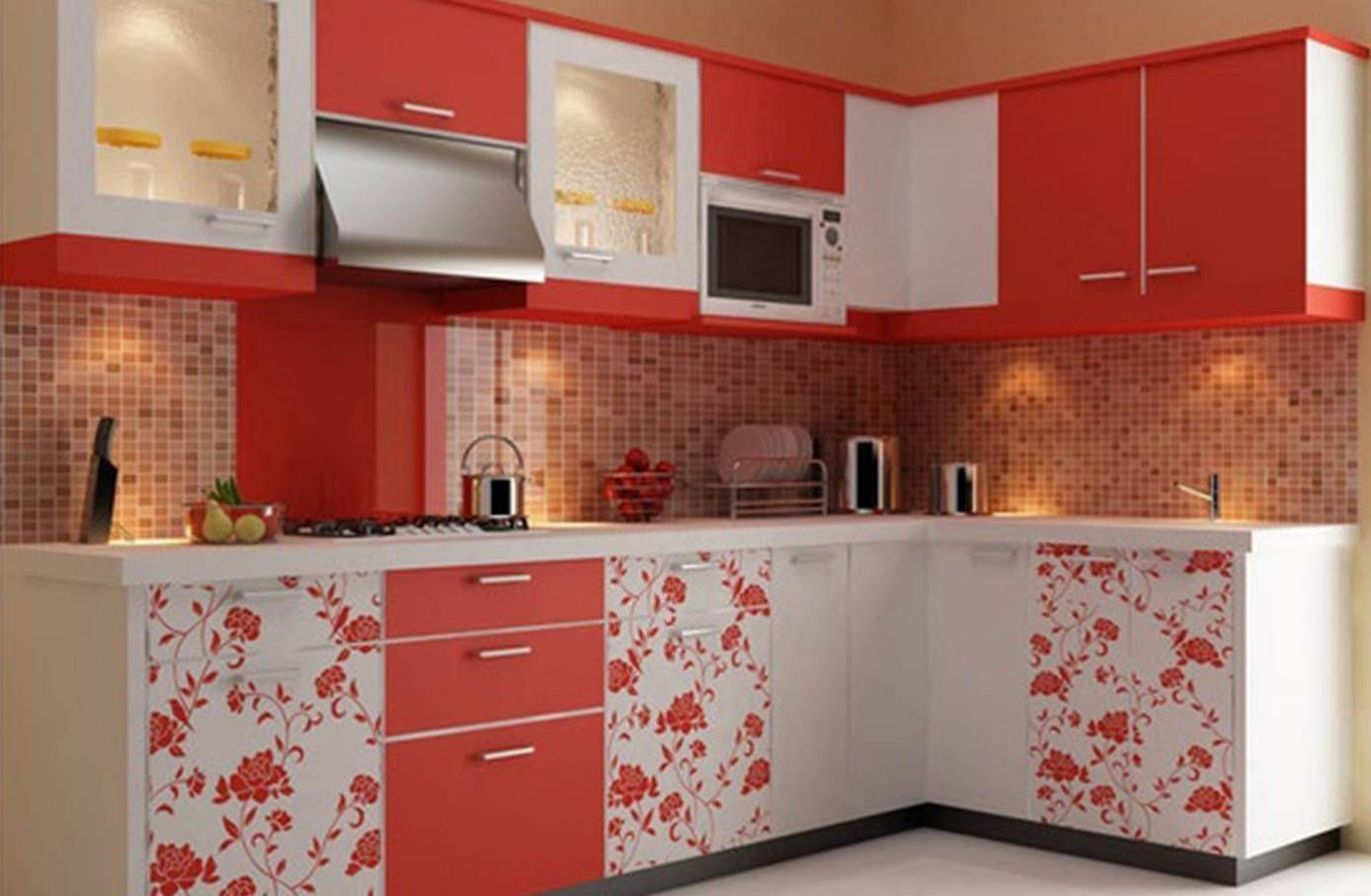 Modular Kitchen Design And Price In Delhimodular Kitchen Design And Price In Del In 2020 Kitchen Furniture Design Trendy Kitchen Backsplash Trendy Kitchen Tile