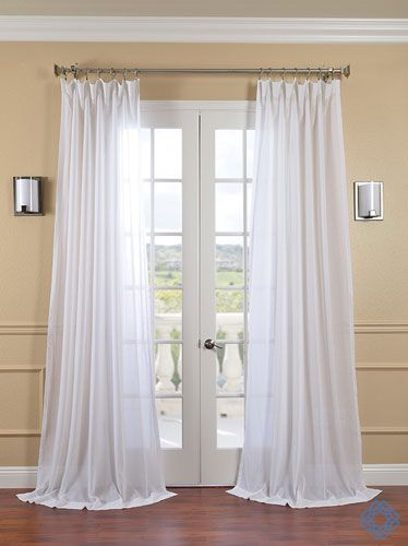 Hpd Has Redefined The Construction Of Sheer Curtains And Panels Our Sheers Are Classic And Unmatched In Half Price Drapes Sheer Linen Curtains Drapes Curtains