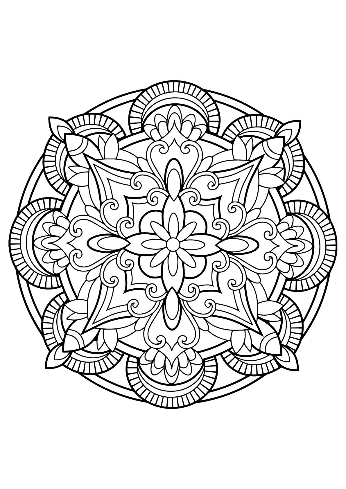 Here Are Difficult Mandalas Coloring Pages For Adults To Print For Free Mandala Is A Sanskrit Wor Space Coloring Pages Mandala Coloring Mandala Coloring Pages