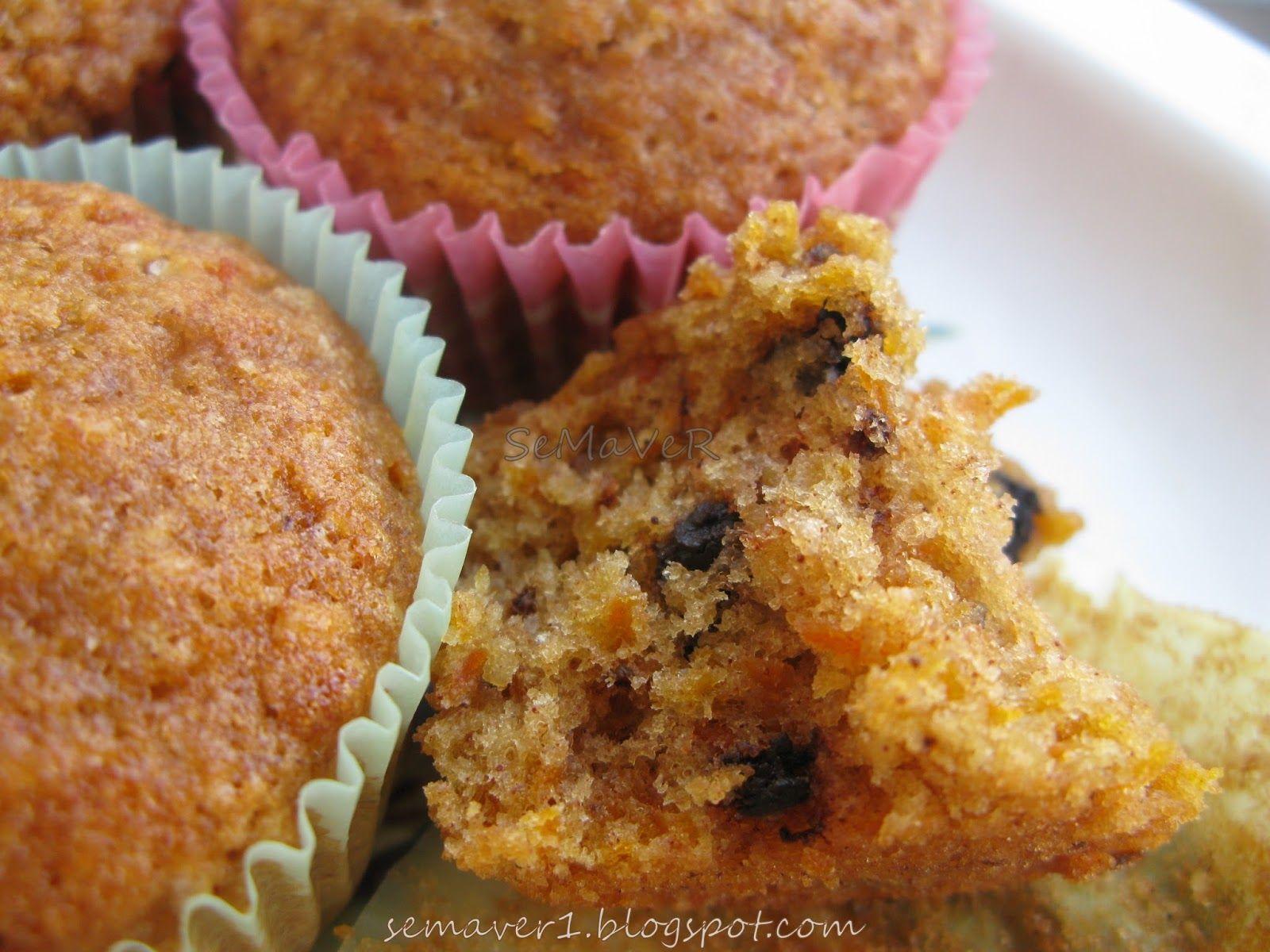 Mısır Unlu Kabaklı Muffin