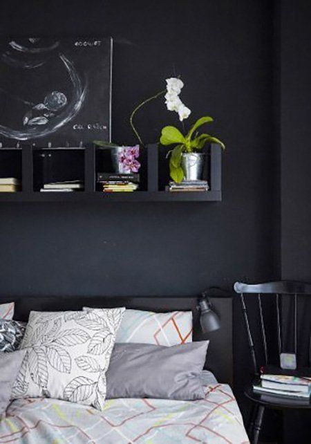 5 ways to use ikeas lack wall shelf unit apartment therapy - Wall Shelving Units For Bedrooms
