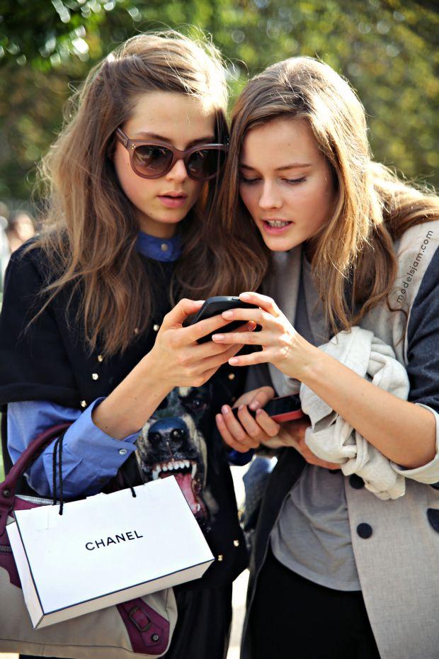 Caroline Brasch Nielsen and Jac #fashion #models