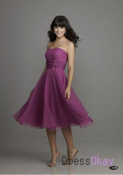 bridesmaids dress in dark red or pale yellow