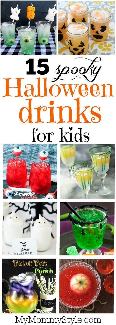 Halloween drinks for kids Best Comfort Foods Pinterest Food - halloween drink ideas for kids