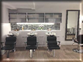 Exceptionnel Salon Back Bar Cabinets