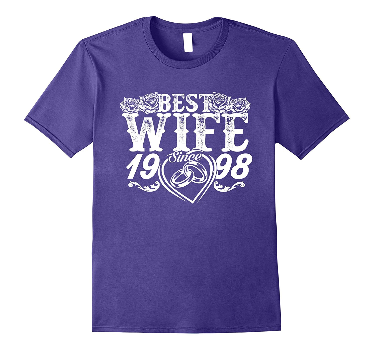 Best Wife Since 1998 TShirt. 19th Wedding Anniversary