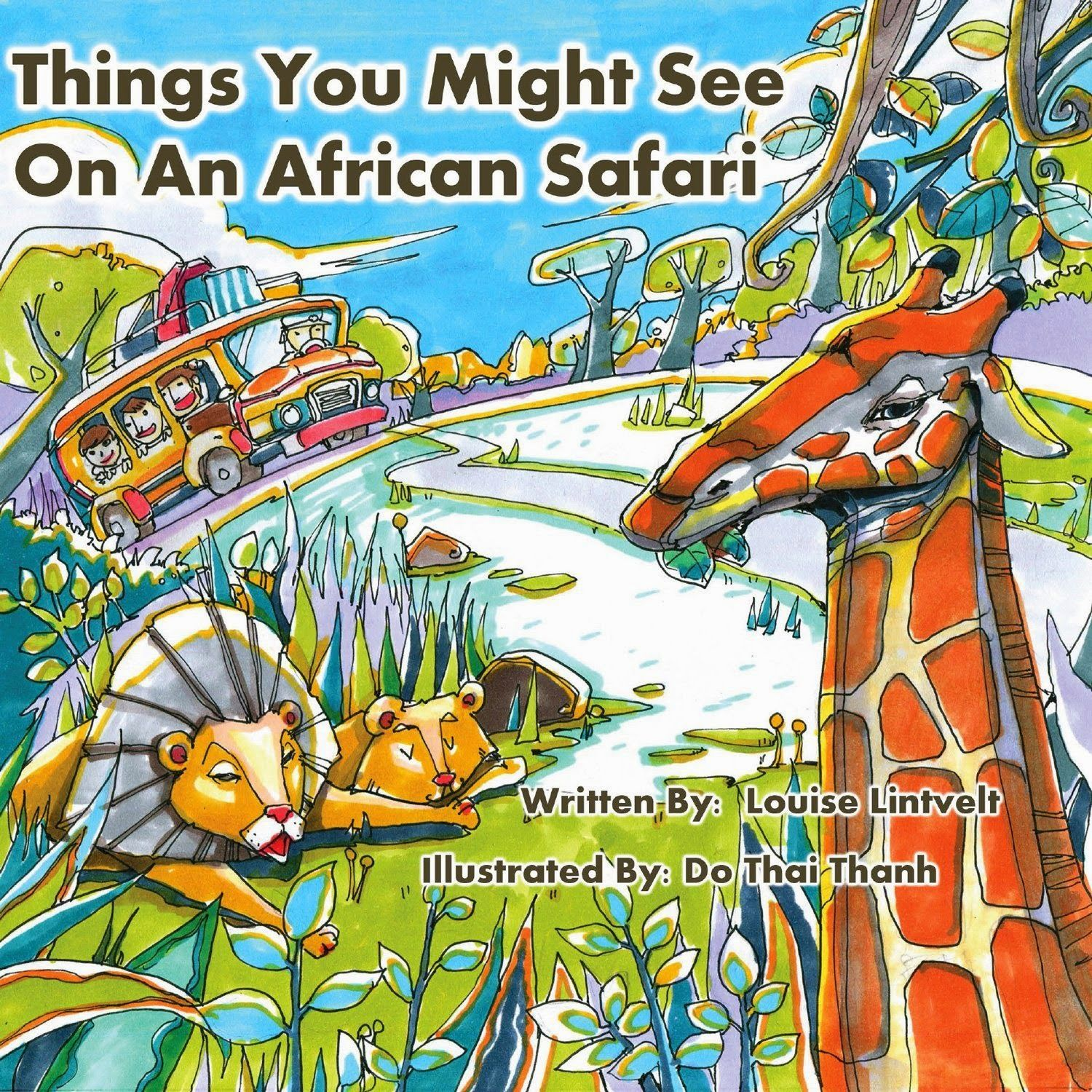 Things You Might See On An African Safari Children's #kindle Book (free  Download 4