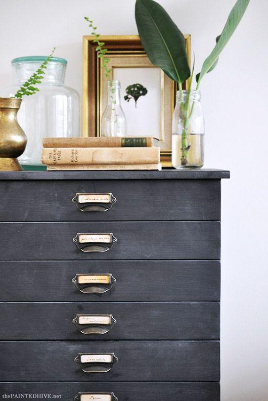 black labeled drawer pulls / sfgirlbybay