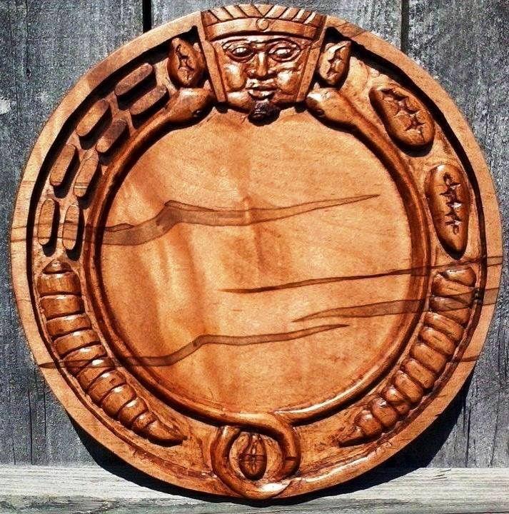 Opon ifa ambrosia maple wood quot diameter hand