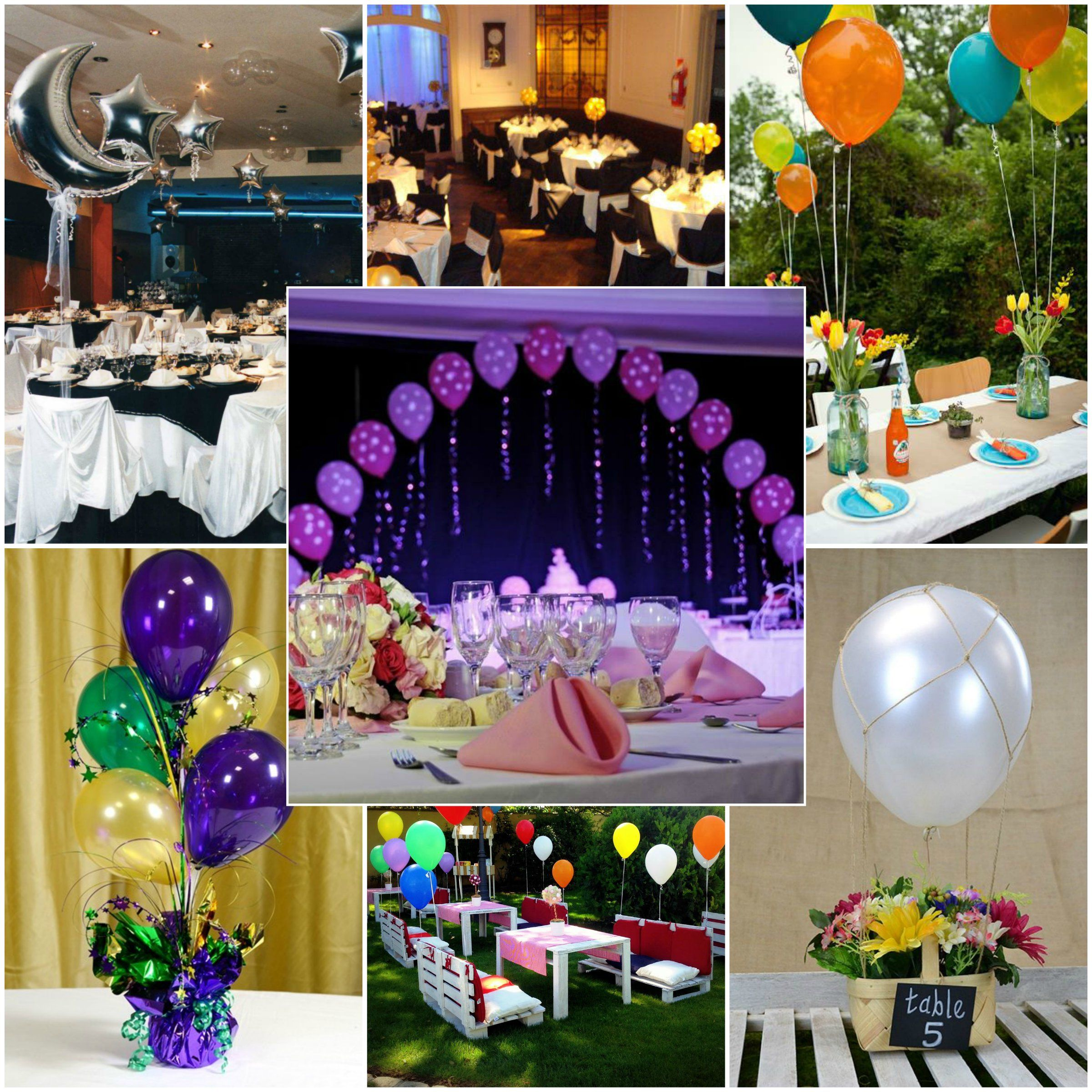 Ideas para decorar con globos http://www.inolvidables15.com/blog-la ...