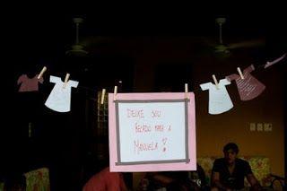 Maria Luiza: Idéias de decoração para o Chá de bebê