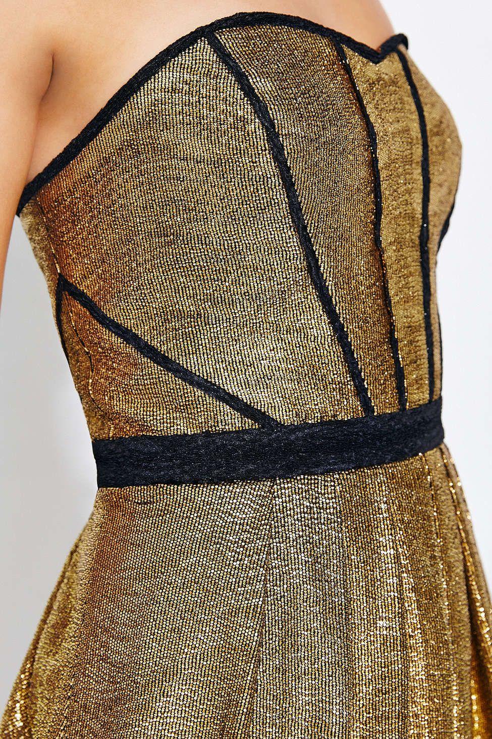 Ecote Starlight Strapless Dress