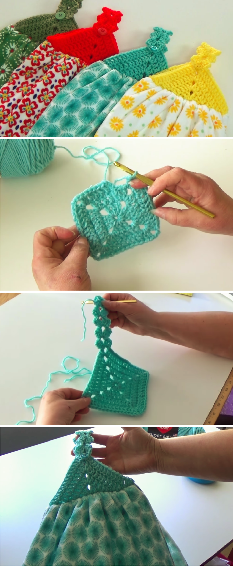 Crochet the Towel Topper | Crochet CP | Pinterest | Häkeln ...