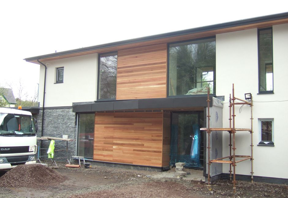 Contemporary house design antrim northern ireland with for Modern house design northern ireland