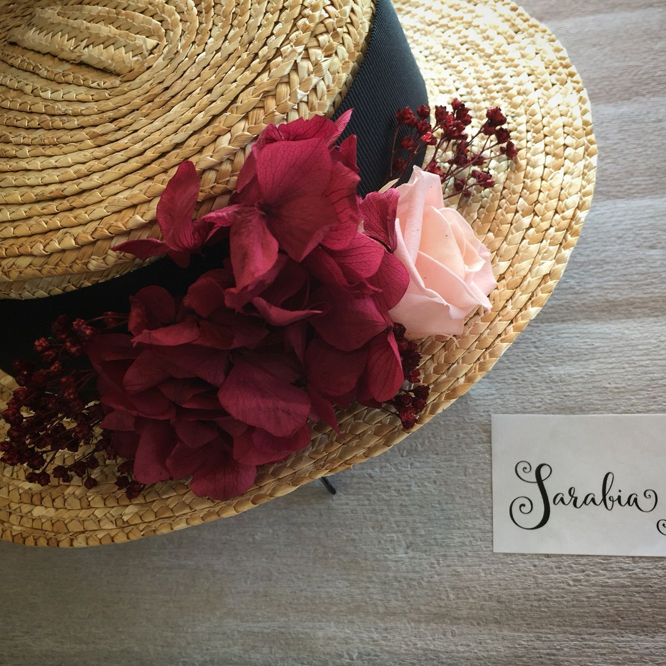 Tocados de Novia hechos con Flores y Decoración Floral  760244335b4