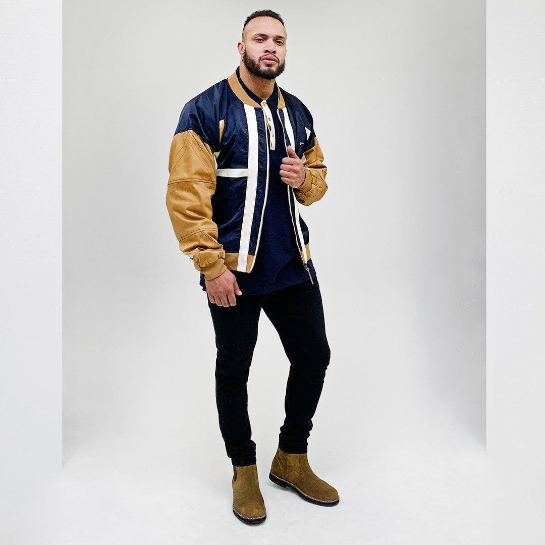Gq Looks For Our Big Tall Customers Rodney Colorblock Bomber Jacket By Atiziano Bomber Jacket Jackets Gq [ 1080 x 1080 Pixel ]