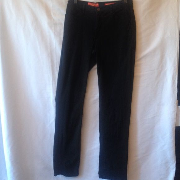 NYDJ Tummy Tuck Jeans Item 52960. Three front pockets and two back pockets. Five belt loops. Made for real women with real curves. 96% cotton 4% spandex. These measures 15 inches across the waist and the rice is 9.5 inches. The inseam is 34 inches. In excellent never worn condition. NYDJ Jeans
