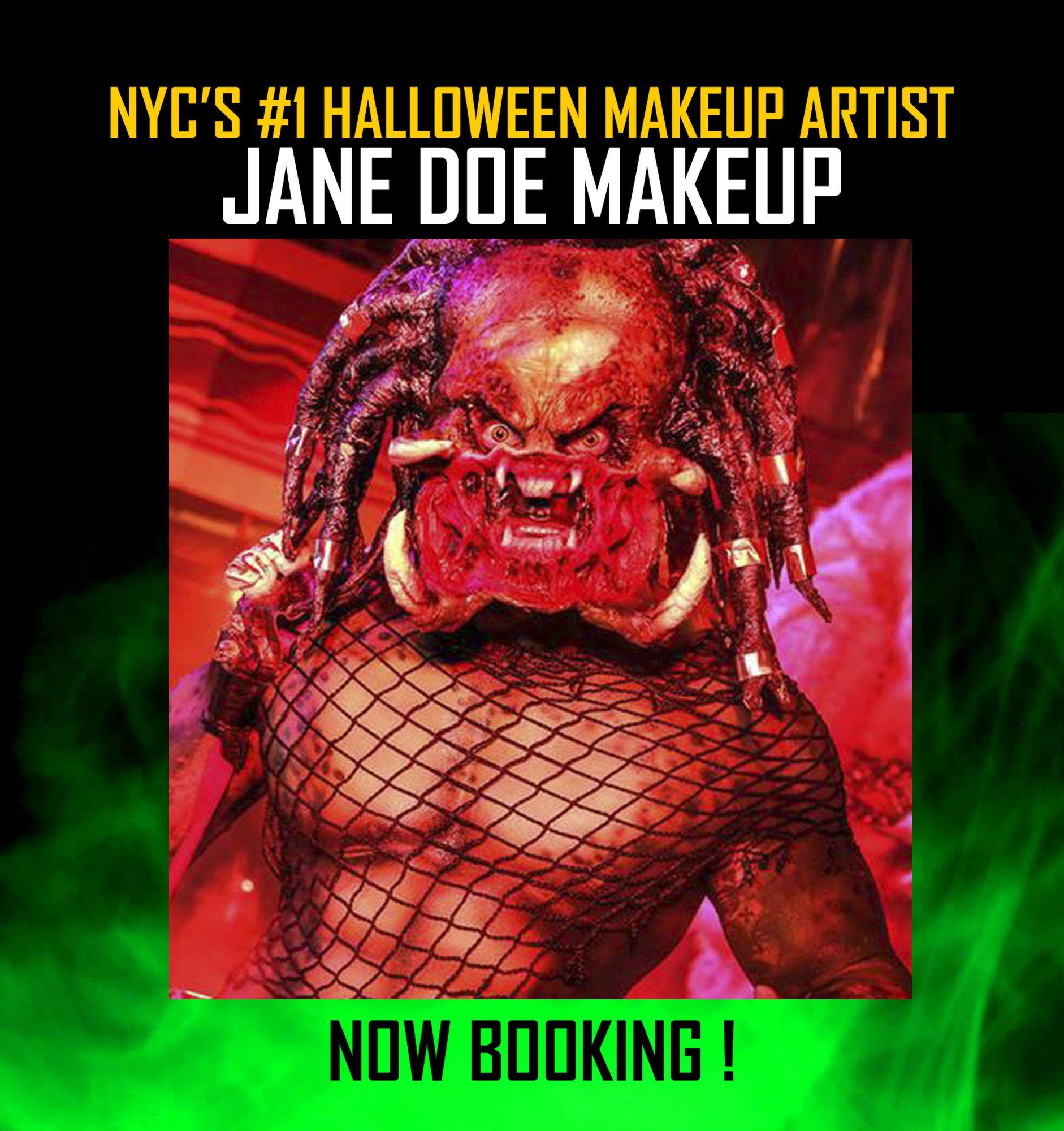 Manhattan Halloween Makeup Artists JANE DOE