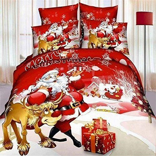 3D Oil Nightmare Before Christmas Bedding Sets 4PC,(1PC Duvet Cover