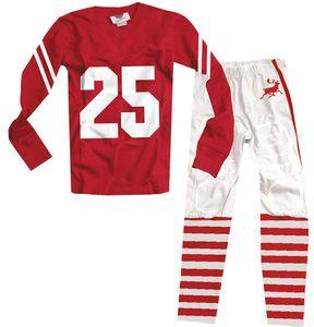 "Christmas ""Reindeer"" Football Pajamas"