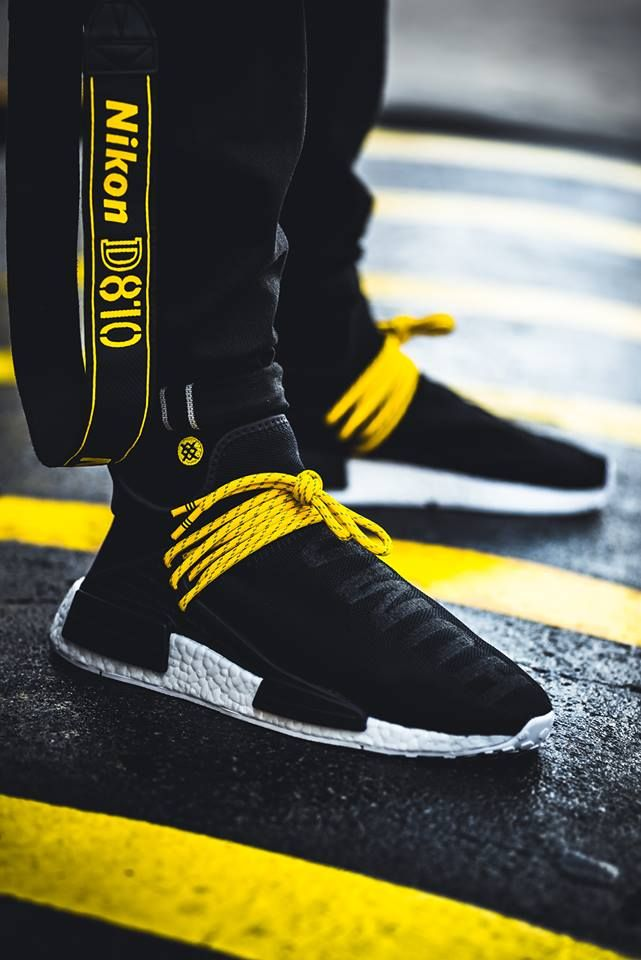5d93b33afaef2 Pharrell x Adidas NMD Human Race - Black - 2016 (by don shoela)