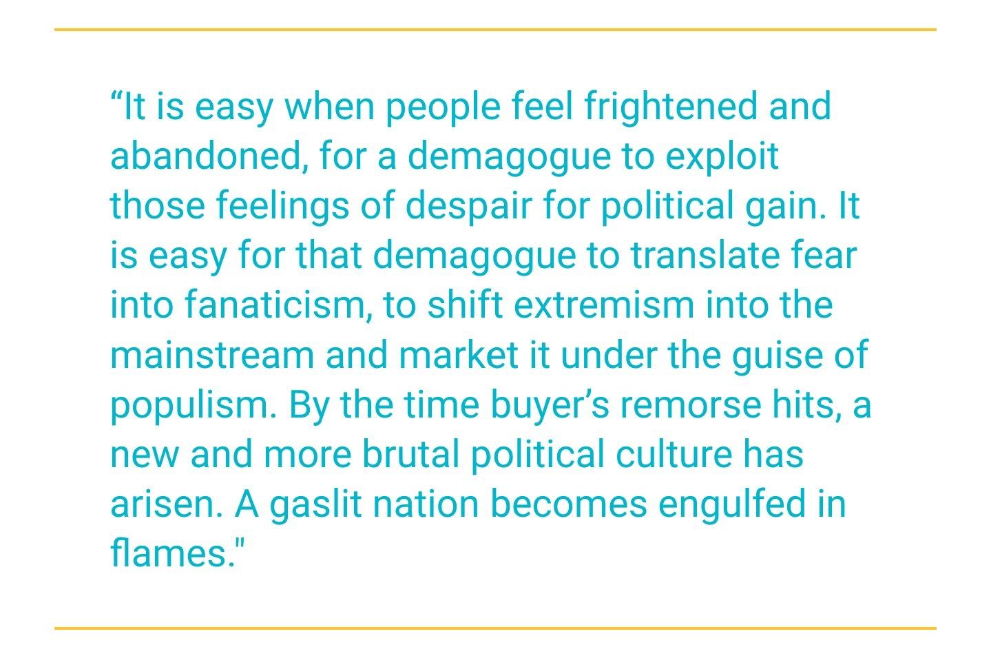 An Excerpt From Sarah Kendzior S Book The View From