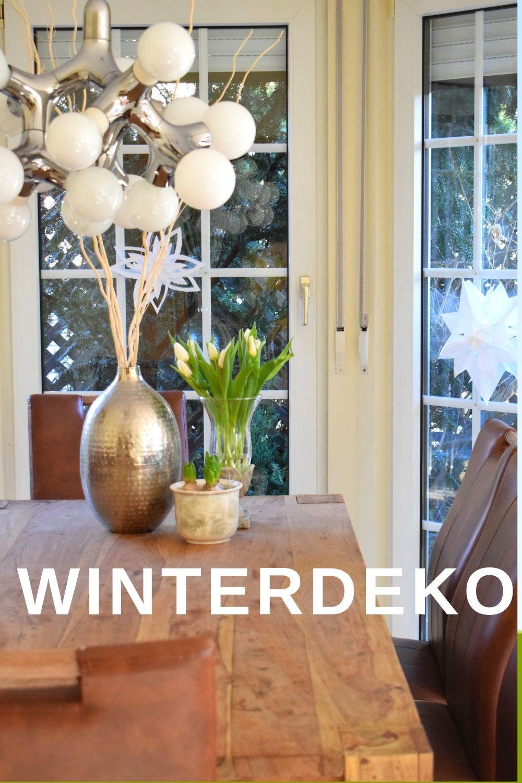 Winterdeko Nach Weihnachten Winterdeko Dekoidee Tischdeko