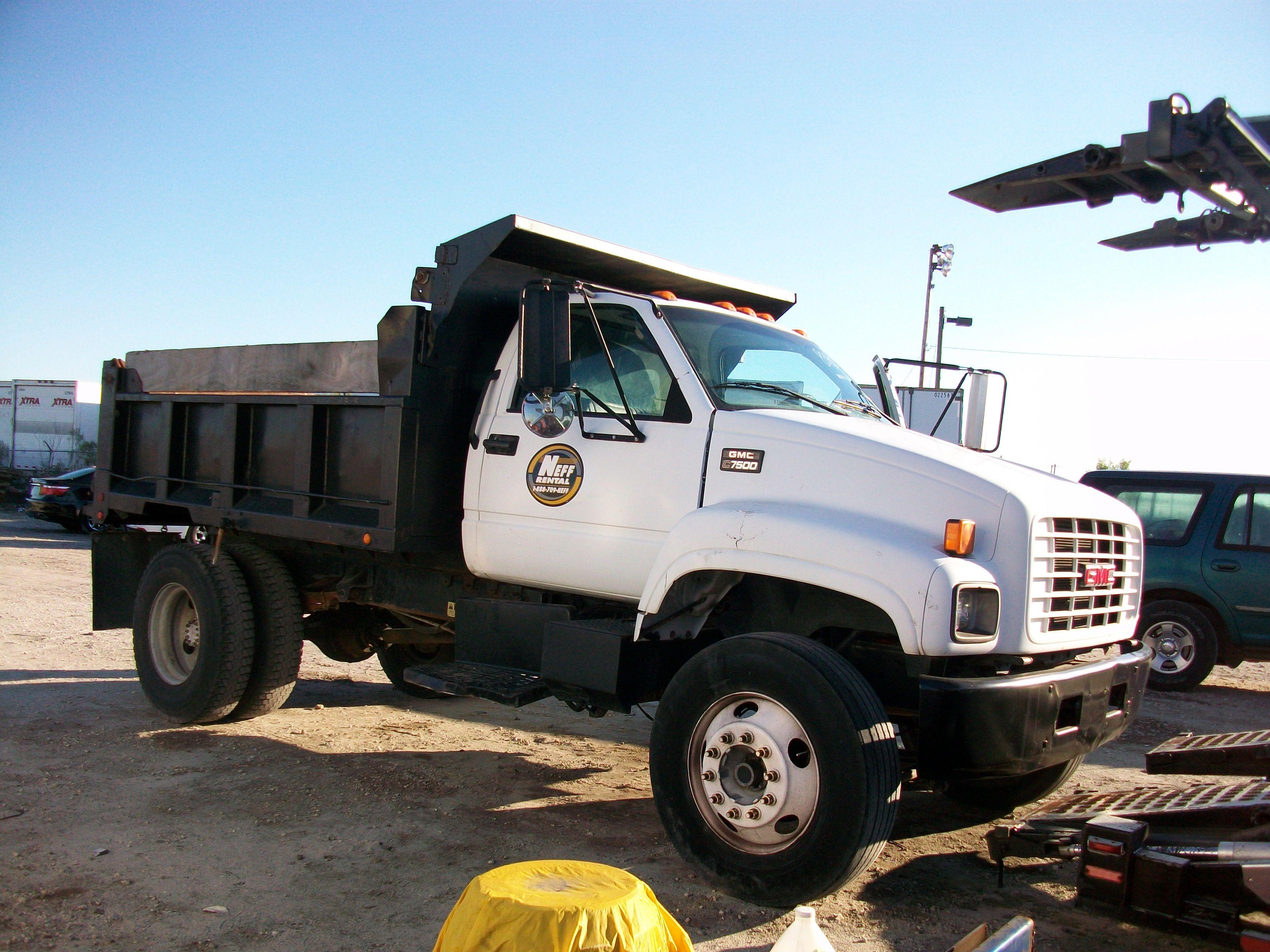 Used 2000 Gmc Dump Truck 7500 For Sale In Fl Truck Gmc Gmc Trucks Gmc Trucks For Sale Trucks