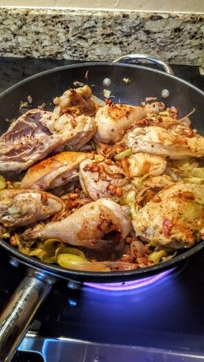 Paleo cooking is the best…. Chicken and artichoke with lemon… I have too say anything I make paleo is awsome