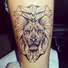 Resultado de imagen para tattoo acuarela leon