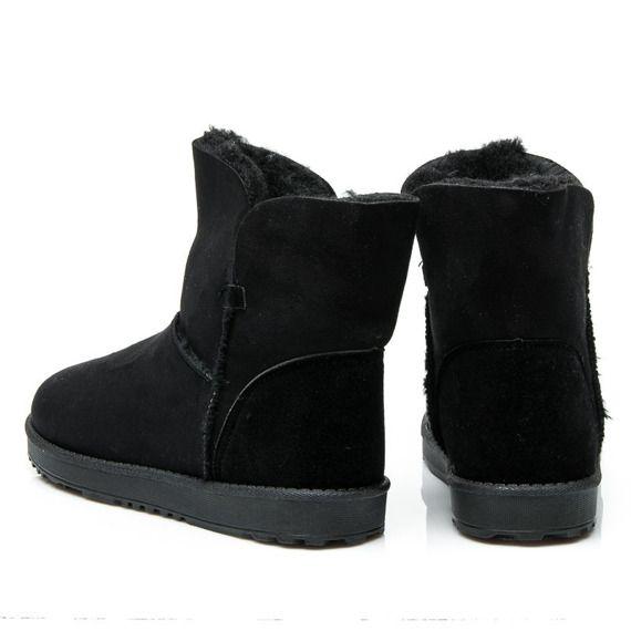 Eskimoski Czarne Boots Ugg Boots Shoes