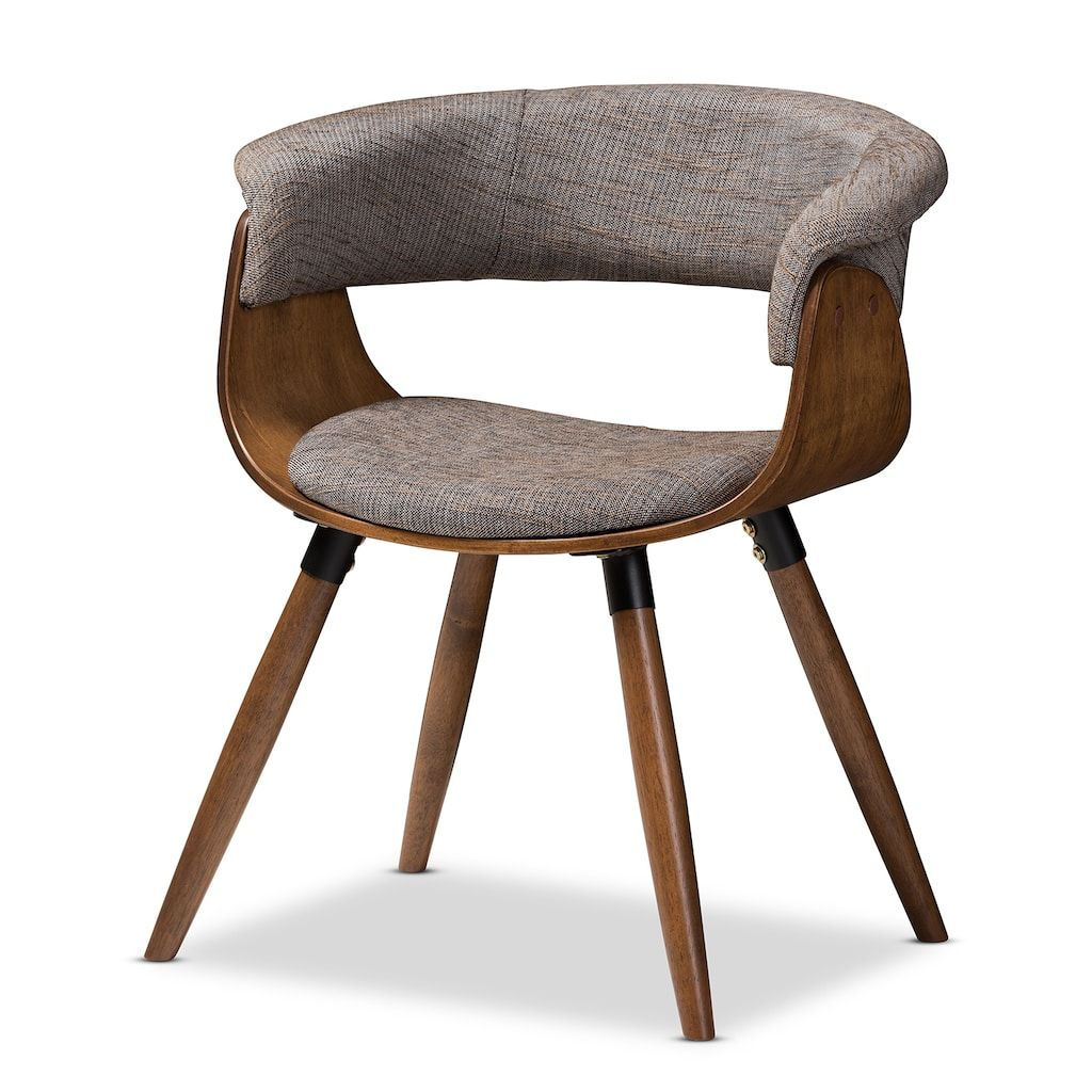 Baxton Studio Mid Century Grey Dining Chair In 2019 Products