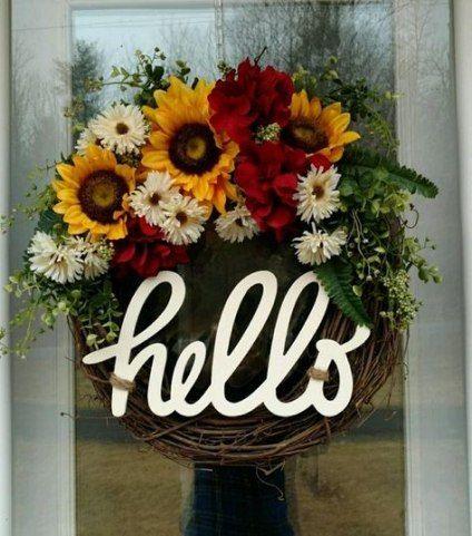 Photo of Super Farmhouse Front Door Wreath Diy Ideas