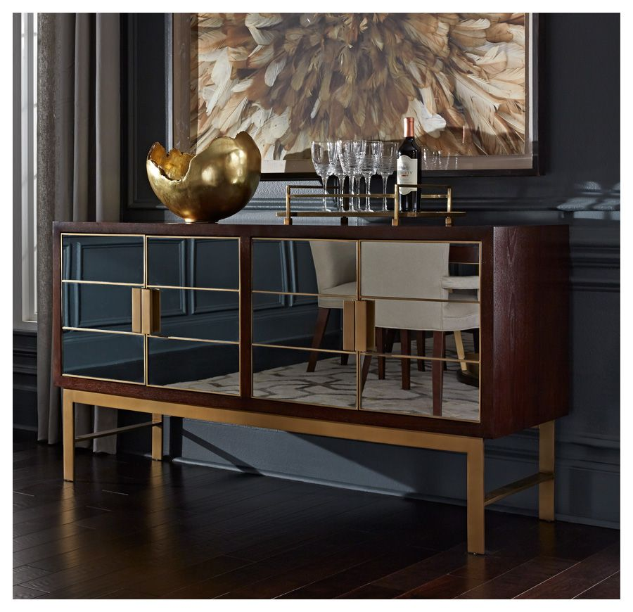 If we go with the mixed metal look DELANEY BUFFET