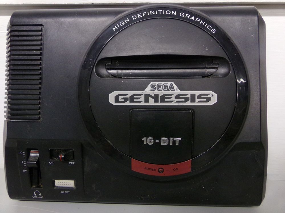 Original Sega Genesis Model 1 High Definition Graphics
