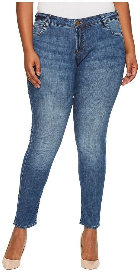 f87aaa78bf6 KUT from the Kloth Plus Size Catherine Boyfriend in Fervent Antique Women s  Jeans