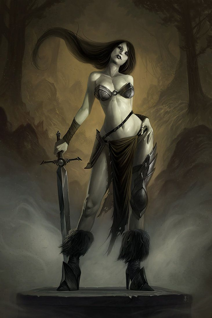 Warrior Final by *Coliandre on deviantART [fighter, barbarian]