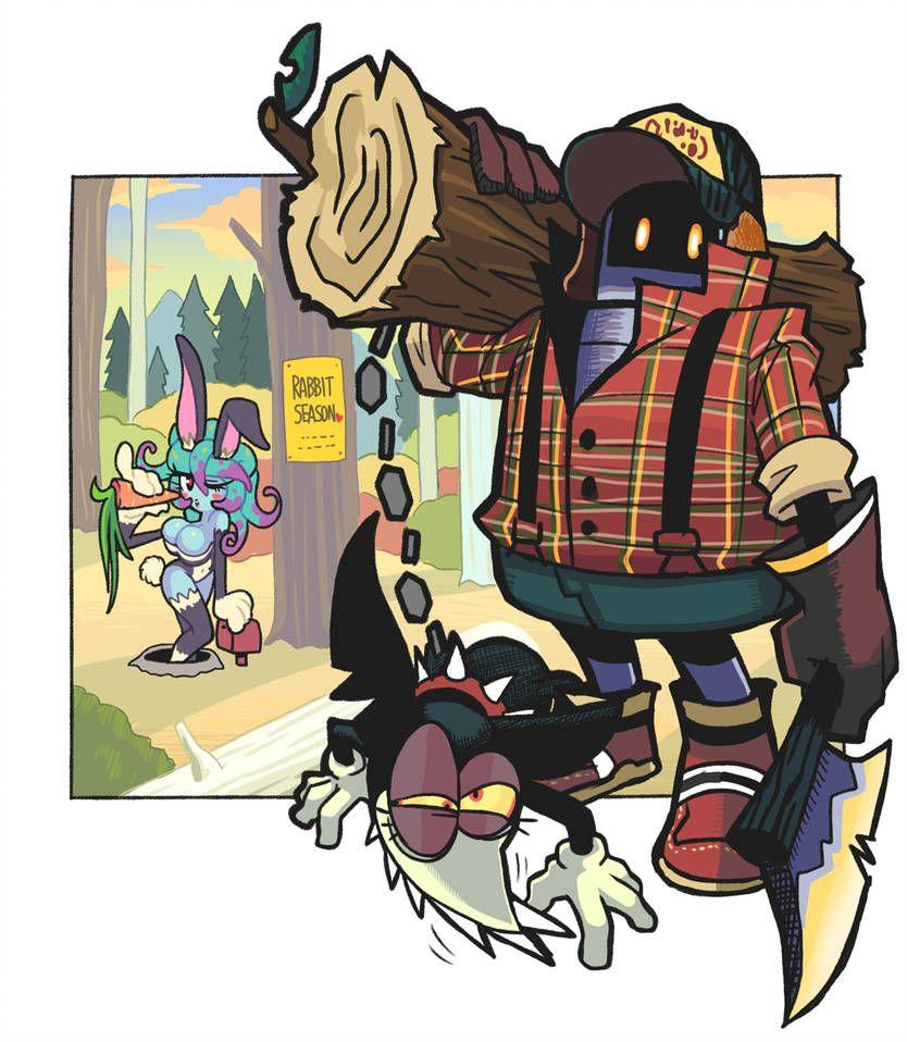 lumberjack by Gashigashi Cartoon art, Character design