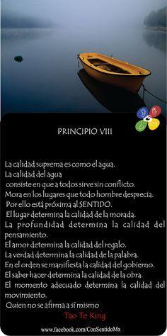 conSentido: TAO TE KING: PRINCIPIO 8