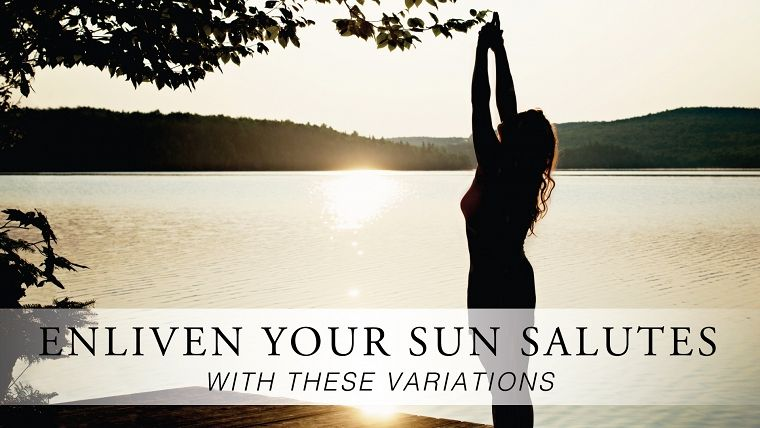 Enliven Your Sun Salutes With These Variations | Yoga sun ...