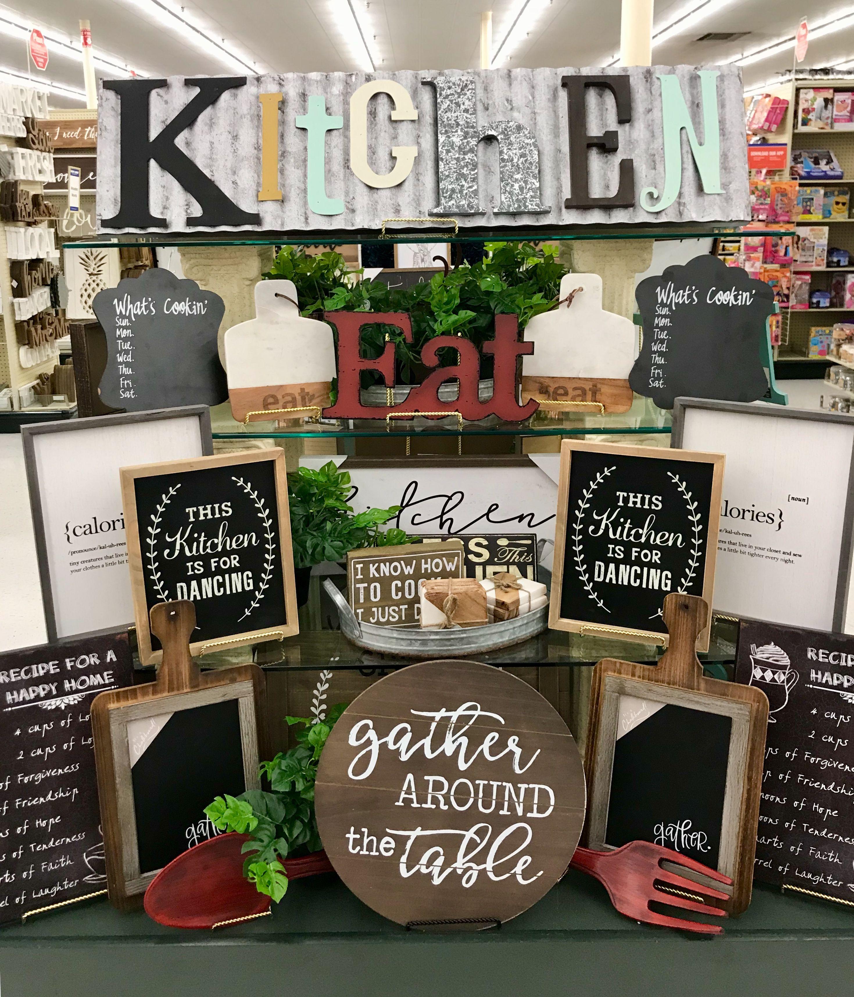 Hobby Lobby Merchandising Table Displays Work Farmhouse Style