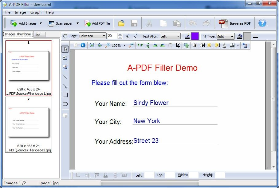 pdf filler free A-PDF Filler is a simple, lightning-fast and powerful desktop ...