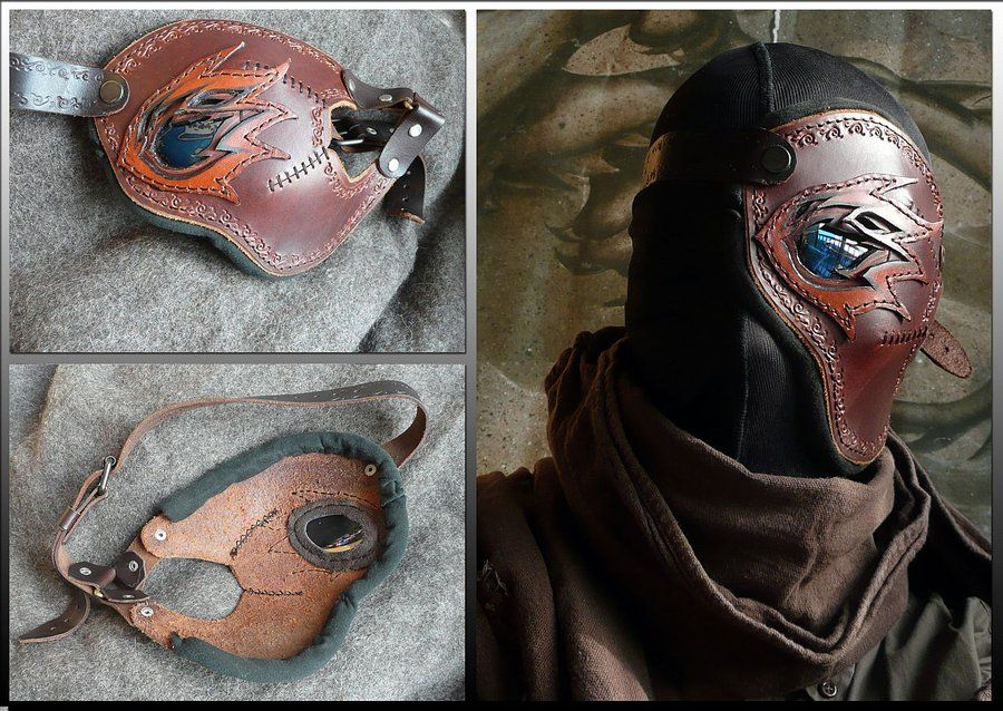 Mask of the Scorched v2 by ~Astanael on deviantART
