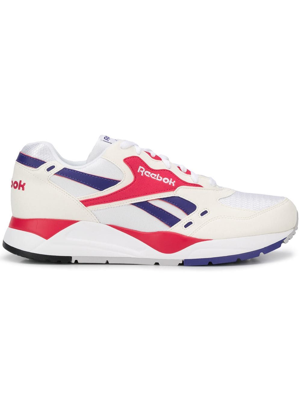 c258f20e63bf8f REEBOK REEBOK PANEL RUNNING SNEAKERS - WHITE.  reebok  shoes ...