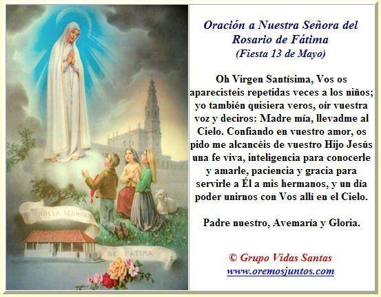 Imagenes De Nuestra Senora De Fatima Para Descargar Y Compartir