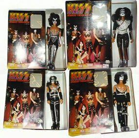 Kiss Mego Dolls Kiss Merchandise Kiss Band Kiss Action Figures