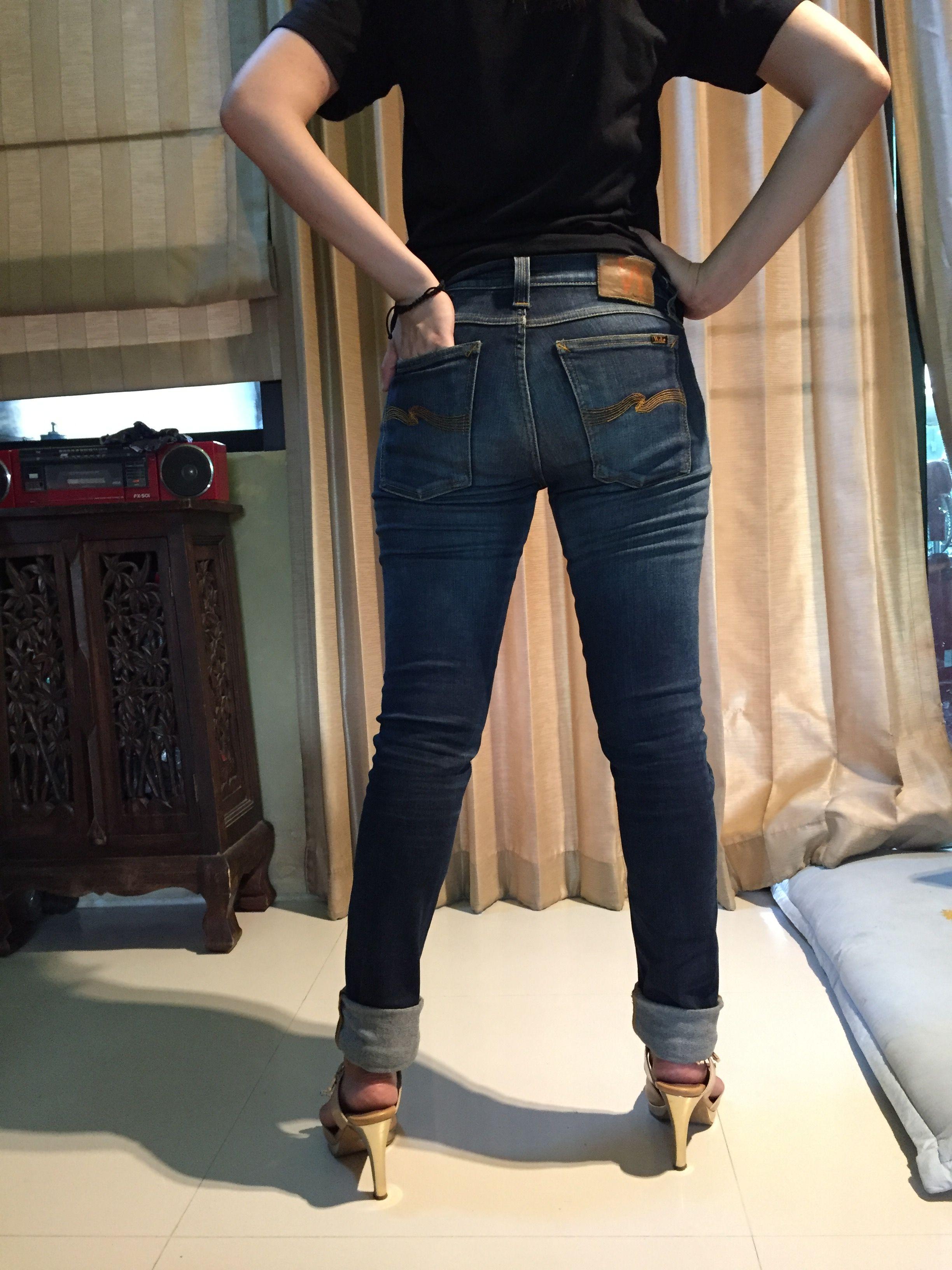 Nudie jeans tight long john twill rimsed  4184dcaec